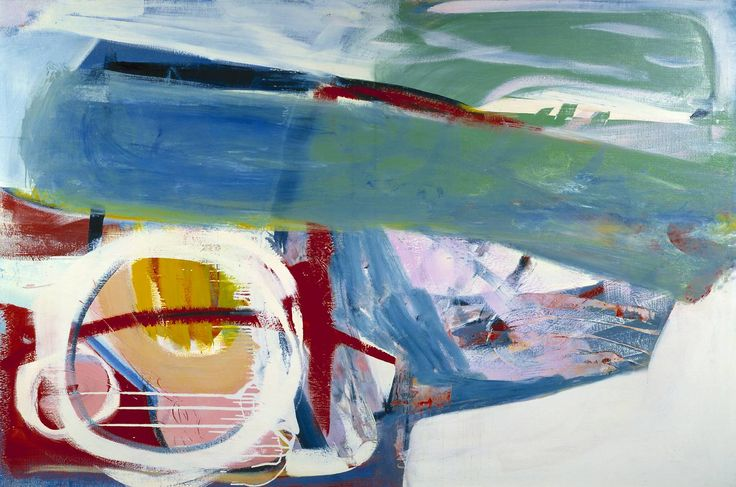 "Peter Lanyon 1918–1964 ""Wreck"" 1963 Oil paint on canvas Image: 1220 x 1830 mm"
