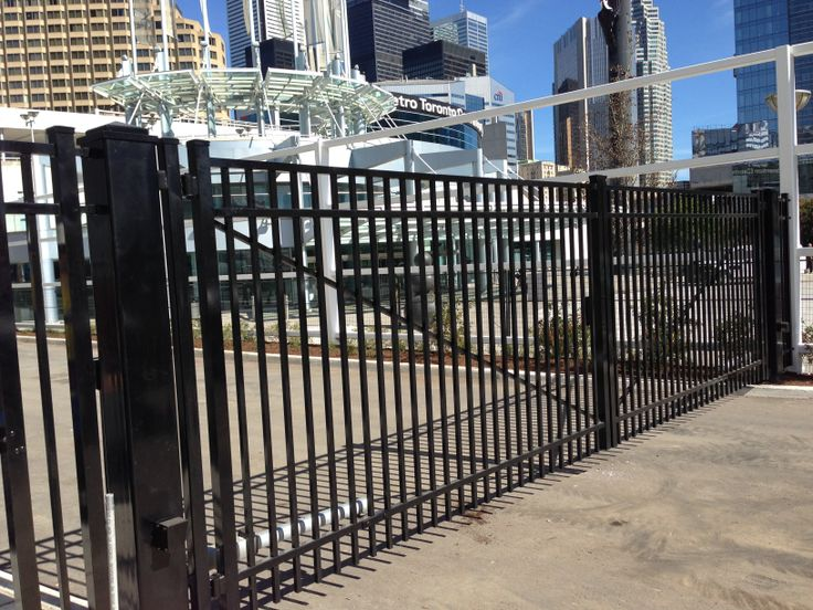 Industrial Security Gates : Best images about entry gate systems on pinterest