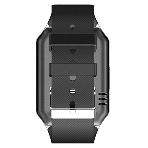 Smartwatch Cell Phone Bluetooth Watch for iPhone Android Samsung Galaxy   1.Remote Camera Control(Android Only) 2.Both life mate and business helper. 3.Compatible for IOS & Android OS devices. You can use this watch as