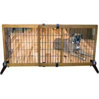 Carlson Pet Products - Freestanding/pressure Mount Wooden Pet Gate