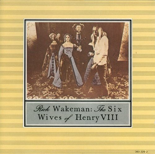Rick Wakeman - The Six Wives of Henry VIII ... what an incredible keyboardist.
