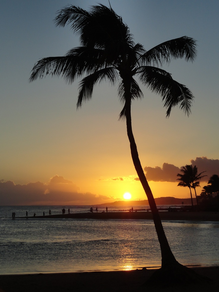 My last sunset in Kuai, Hawaii
