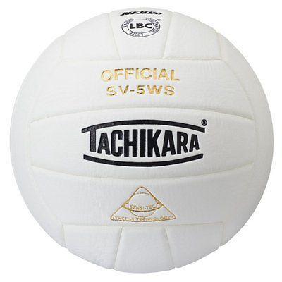 Volleyballs 159132: Tachikara Sv-5Ws Sensi-Tec Volleyball, White -> BUY IT NOW ONLY: $36.02 on eBay!