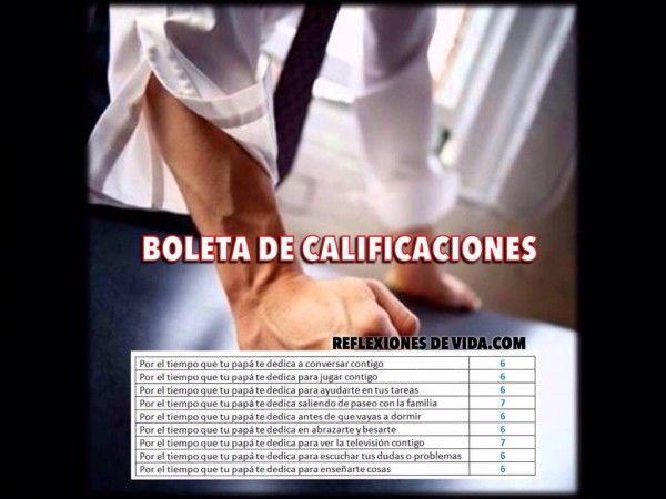 BOLETA DE CALIFICACIONES