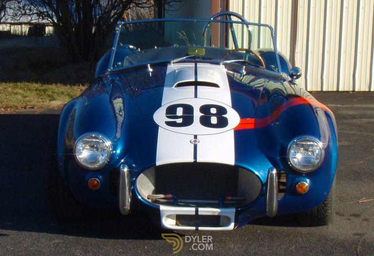 Ford Cobra Cabriolet Roadster 1965 Blue Car For Sale 225576 Blue Car Mustang Shelby Cobra Ford Gt