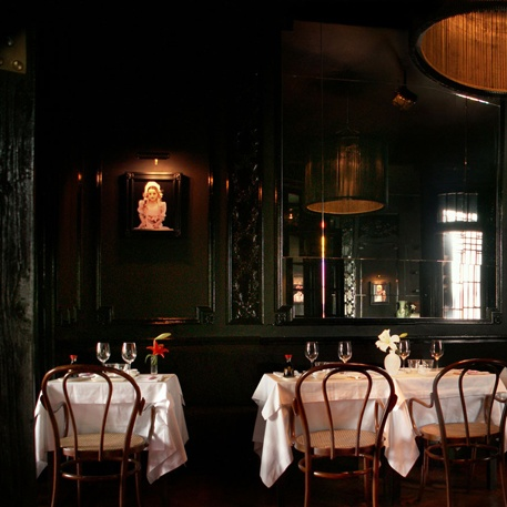 Little Rose restaurant in Palermo Buenos Aires combines haunted bistro decor with sushi.