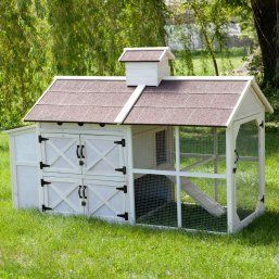 Boomer & George Deluxe Chicken Coop - Rabbit Cage & Hutch Accessories at Hayneedle