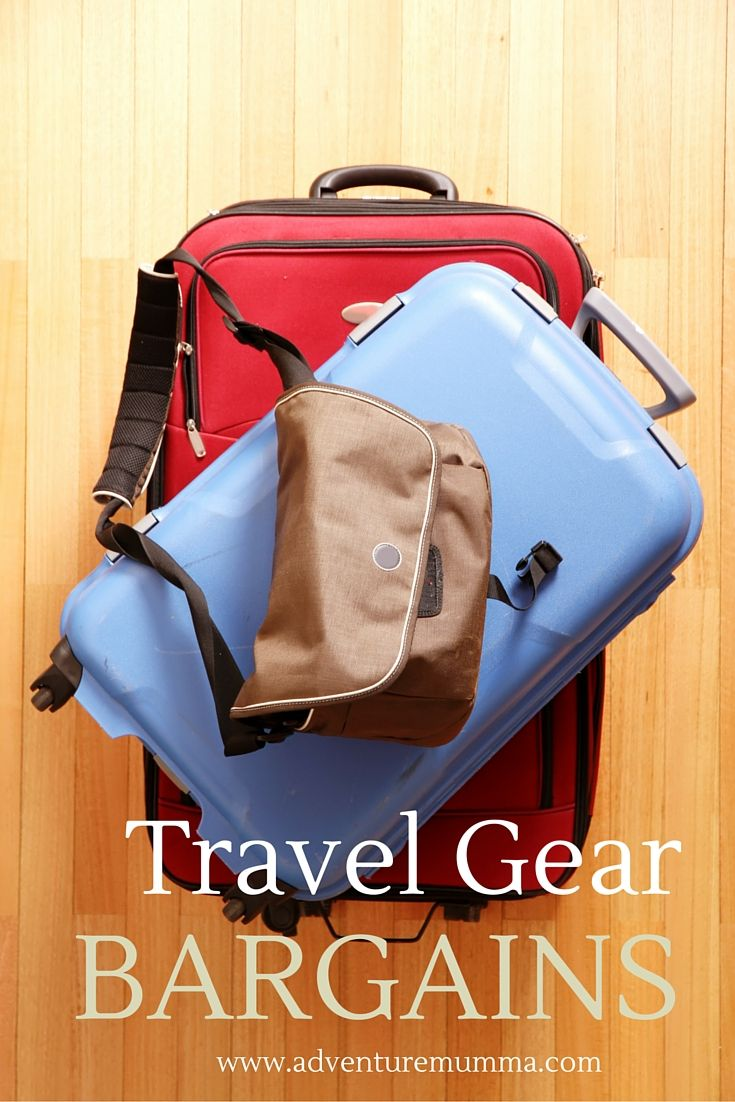 Travel Gear Bargains - Where to get Cheap Luggage Sets Online via adventuremumma.com