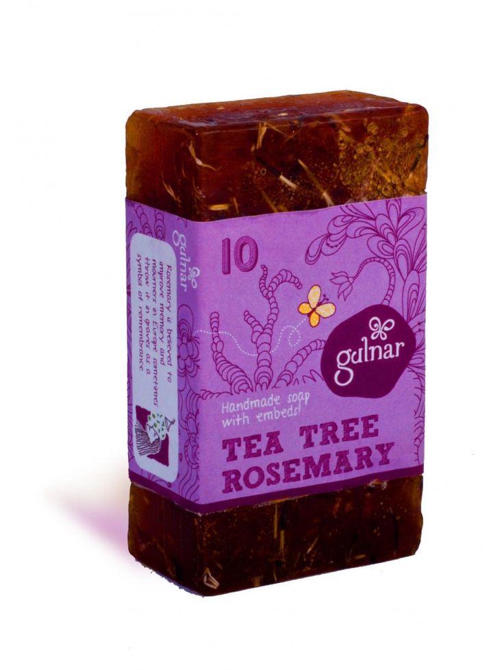 Rosemary & Tea Tree Soap Buy here: http://www.vegalyfe.com/rosemary-tea-tree-soap.html
