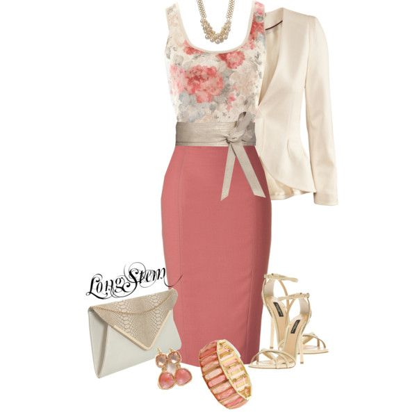 A fashion look from March 2014 featuring A|Wear tops, H&M blazers and L'Wren Scott skirts. Browse and shop related looks.