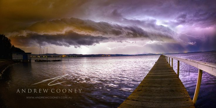 Storms over Long Jetty by Andrew Cooney on 500px