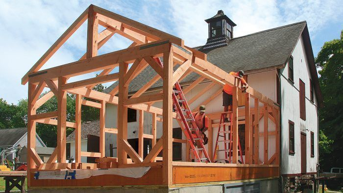 Ken Bouvier Of South County Post And Beam Has An Article In Fine Homebuilding Magazine Extolling The Benefit Timber Framing Building A House Timber Frame Plans
