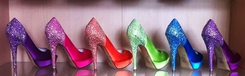 Coloured bridal shoes are becoming more and more popular and are the perfect way to add some fun.