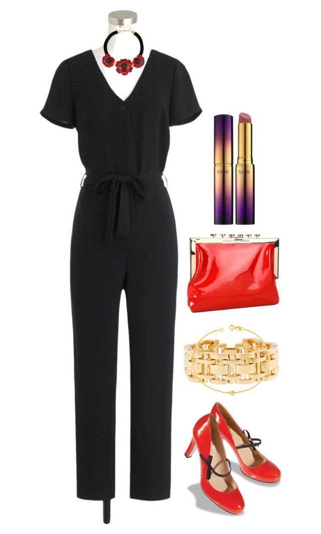 🌺🚞⌨️ by strawberryplums on Polyvore featuring polyvore, fashion, style, J.Crew, Kate Spade, Maya Brenner, tarte and clothing