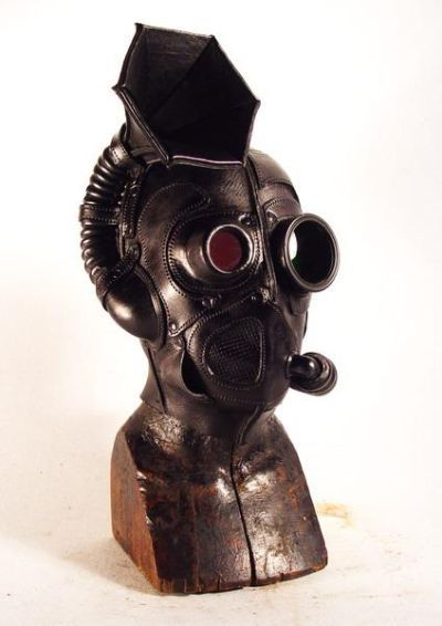Steampunk Mask - Hearing Impaired | Walyou