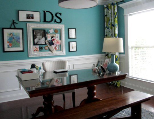 Katies' Formally Functional Dining Room Home Office DeskTops - The Best of Home Office Desks | Apartment Therapy