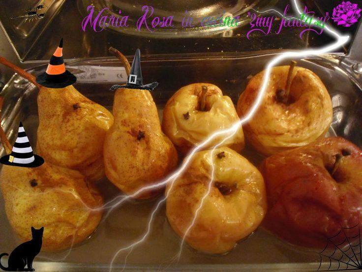 PERE E POMI COTTI, ricetta Halloween