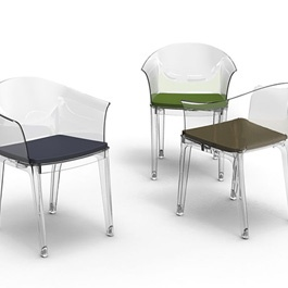 Chaises transparentes myfab chaises pinterest chaises for Chaises transparentes ikea