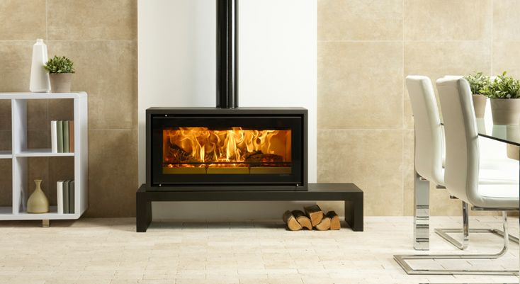 Studio 2 Freestanding Wood Burning Stove - Stovax Stoves
