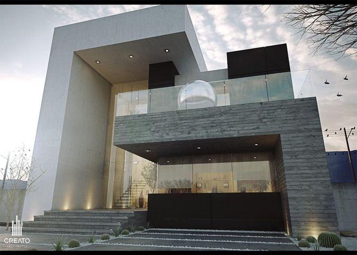 Las 25 mejores ideas sobre fachadas de casas modernas en for Fachadas de casas modernas en hermosillo