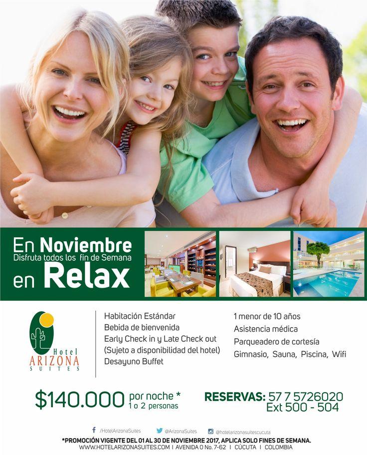 Disfruta con tu #familia este #Findesemana del mejor plan en el Hotel Arizona Suites Cúcuta Reservas 57 7 5726020 Ext 500  https://goo.gl/DNtgSW