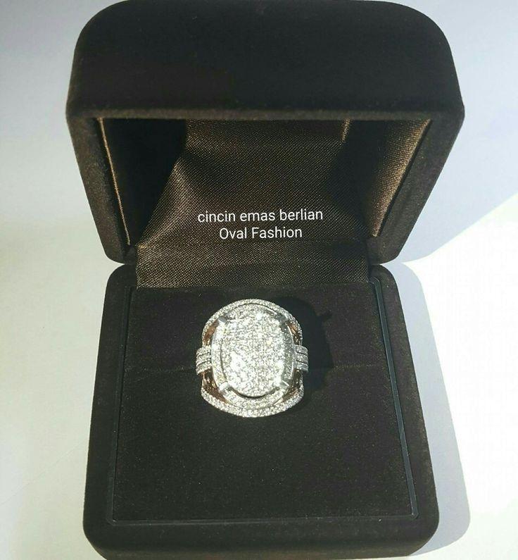 New Arrival🗼. Cincin Emas Berlian Oval Fashion💍.   🏪Toko Perhiasan Emas Berlian-Ammad 📲+6282113309088/5C50359F Cp.Antrika👩.  https://m.facebook.com/home.php #investasi#diomond#gold#beauty#fashion#elegant#musthave#tokoperhiasanemasberlian