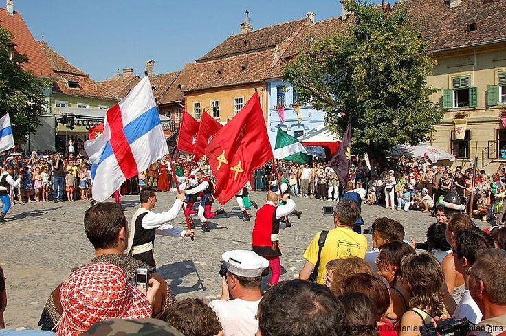 Sighisoara en Mures un destino turístico escondido popular en Rumania