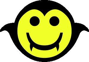 smiley 1 vampier FC sticker