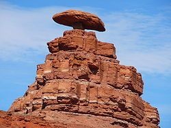 mexican hat, utah. my favorite random desert spot.