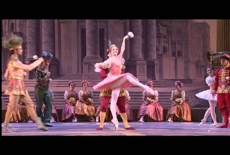 Rose Adagio - notoriously difficult, one of my childhood favorites, and always a crowd-pleaser. Zakharova's version is just stunning! #thankyoupepita #alsotchaikovsky