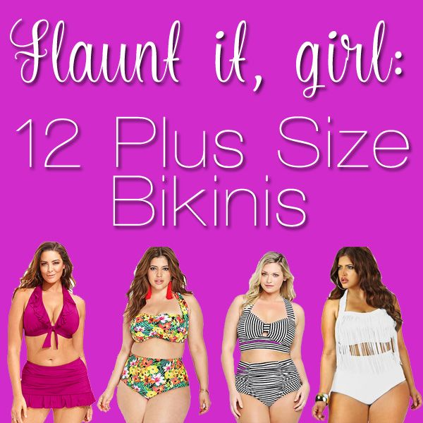 Flaunt Your Curves in These 12 Plus Size Bikinis
