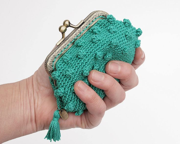 214 best MONEDEROS CROCHET images on Pinterest | Crochet tote ...