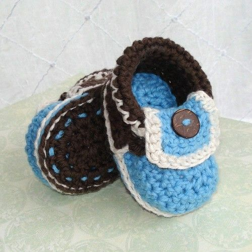 free crochet patterns for baby booties | Crochet Pattern Baby Moccasins Booties PDF 5 | Genevive - Handmade ...