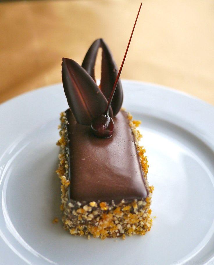 Chocolate Praline Mousse Cakes