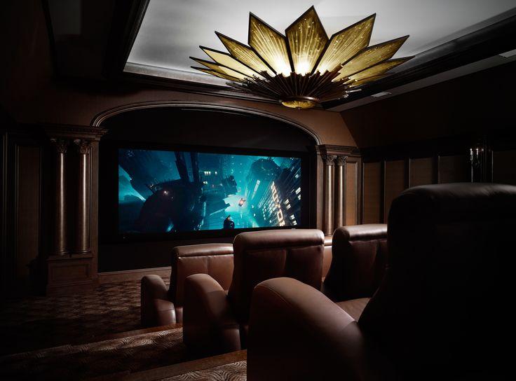 Laura Lee Clark Interior Design - home theater