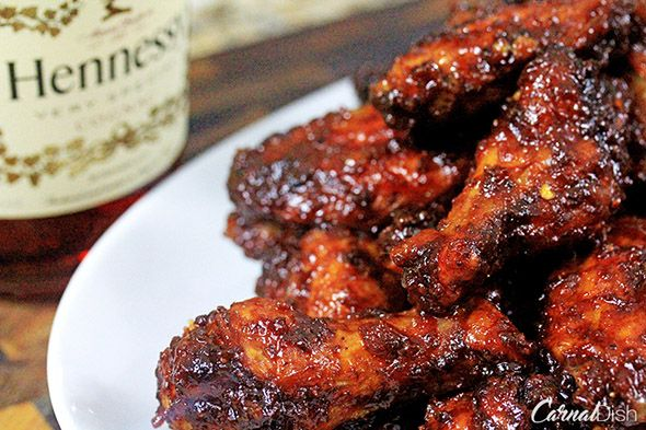 Orange-Hennessy BBQ Wings