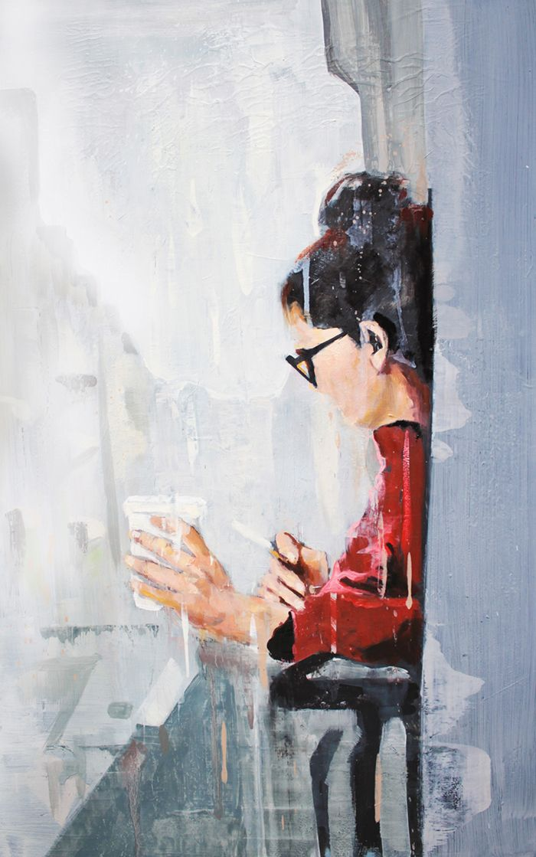 Painting by Felipe Achondo