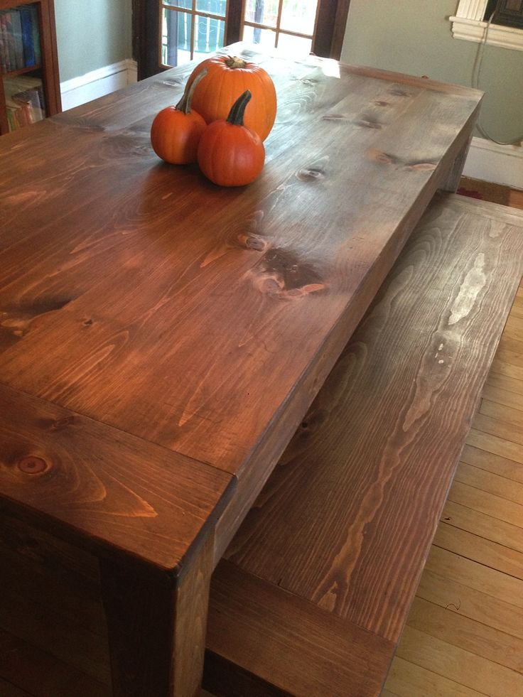 Parsonu0027s Table And Benches. Eastern White Pine. Built By Barleycorn  Woodworks, Northwood,