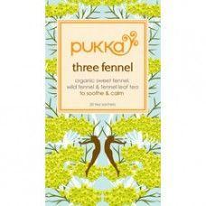 Pukka Herbs Three Fennel Tea    www.nombox.co.uk/