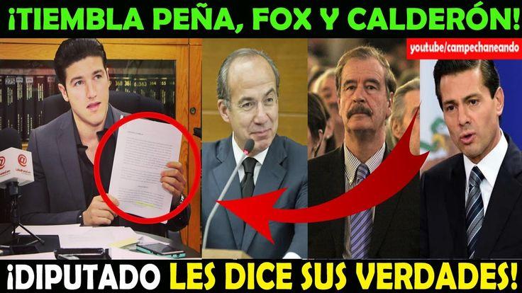 Diputado Pone a Temblar a Peña Nieto, Vicente Fox y Felipe Calderón – Ca...