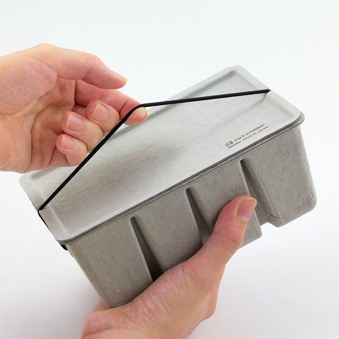 PEN CASE/CARD BOX [MIDORI PULP PEN CASE/ PULP CARD BOX]