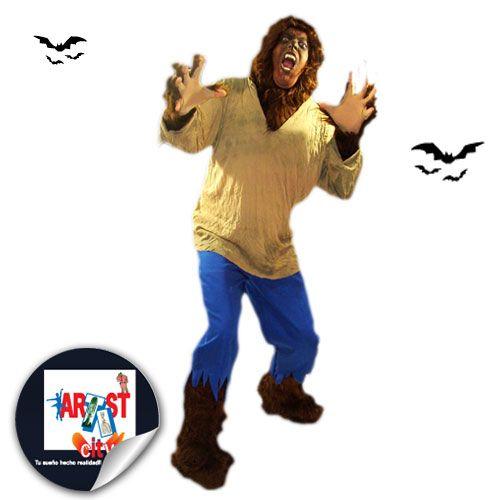 Disfraz de hombre lobo modelo 1.