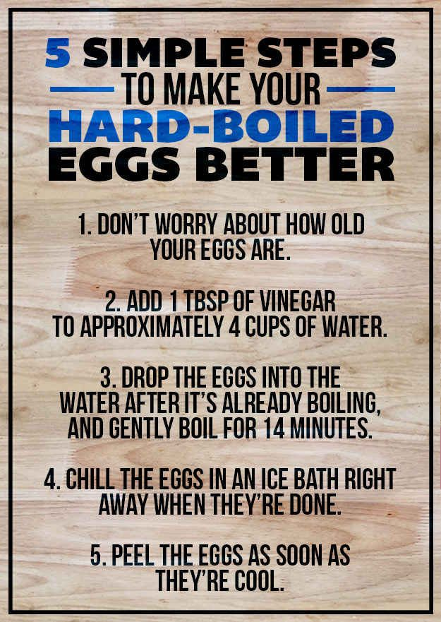 TAKEAWAY: Here are five simple steps to make an easy-to-peel hard-boiled egg.