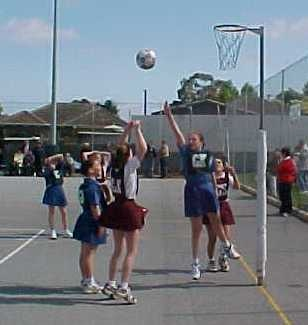Used to play netball in 60s 70s UK schools.Because I was all I was always GA or GK hated it !!