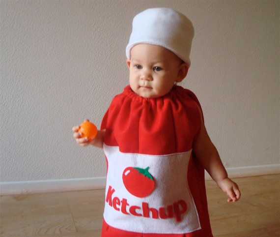 Ketchup Bottle Kids Costume by TheCostumeCafe on Etsy, $55.00
