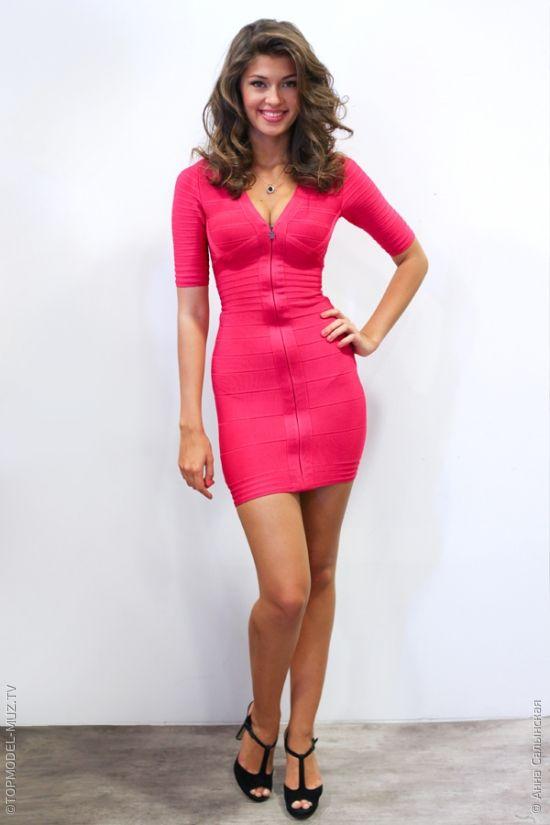 Veronika Istomina Renos Pink Mini Dresses Dresses