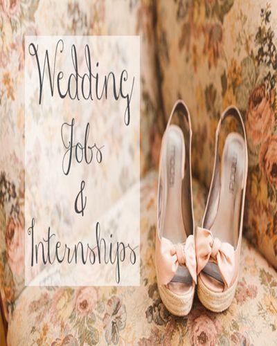 Wedding Planning Internships