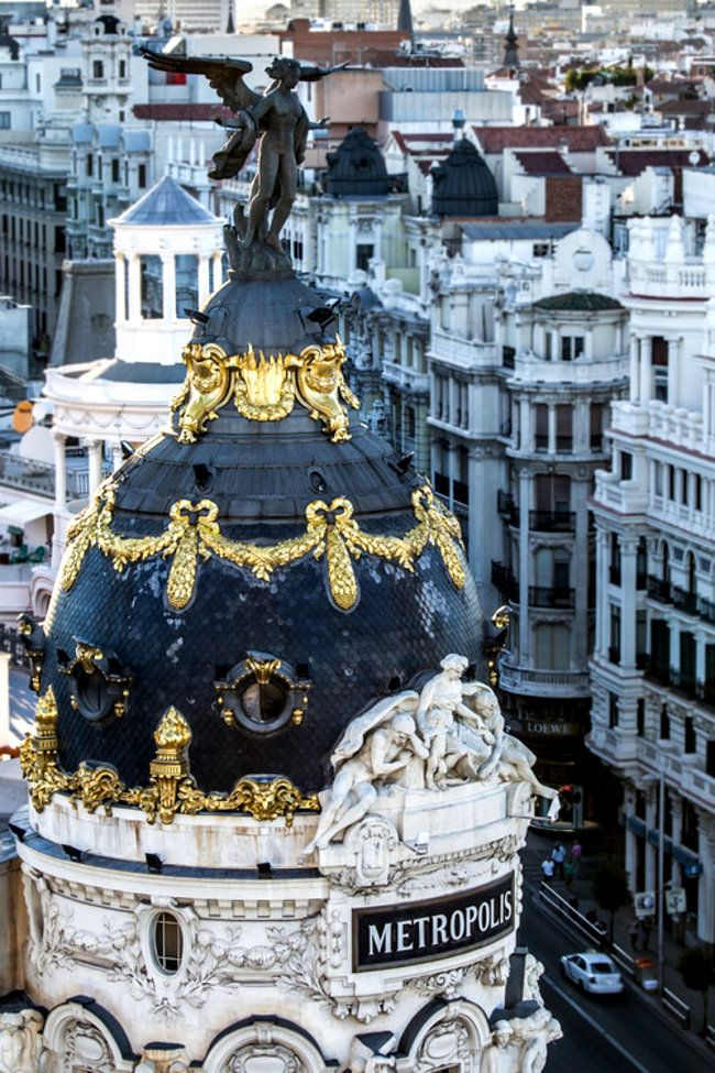 Madrid, Spain - top of a museum (picture)