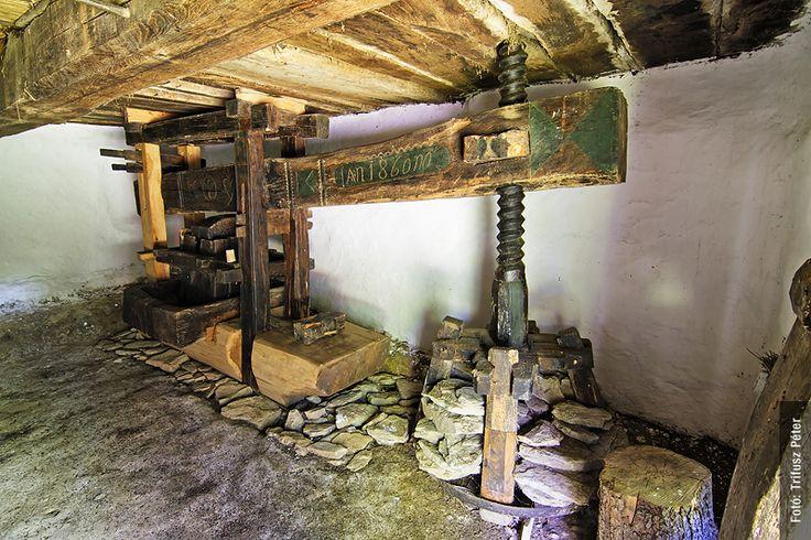 Wine cellar inside/Cák/Írottkő Nature Park/ Hungary