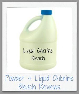 Powdered Amp Liquid Chlorine Bleach Reviews Which Are Best